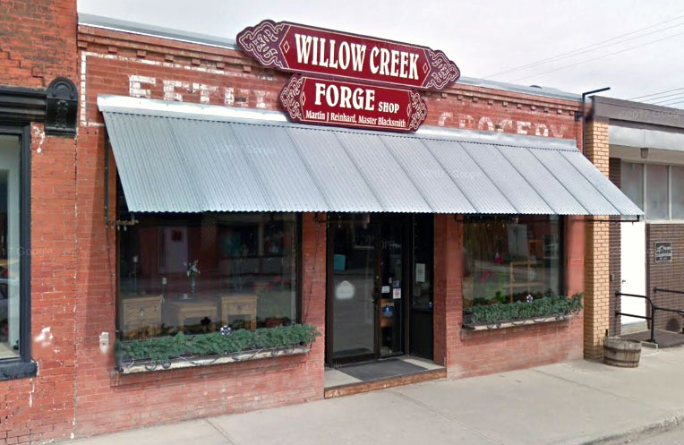 Willow Creek Forge storefront